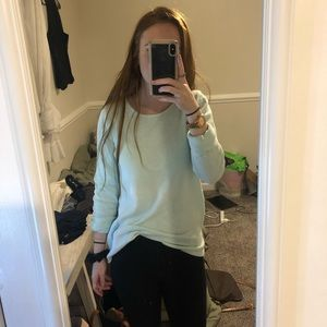 Turquoise old navy oversized sweater